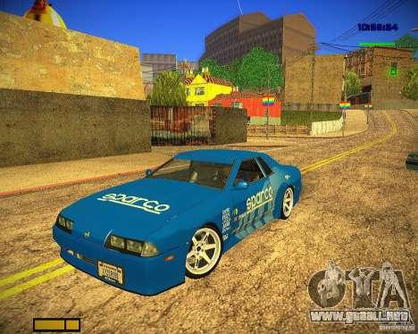 Pak vinilos para Elegy para la visión correcta GTA San Andreas