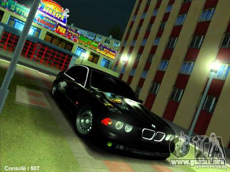 BMW M5 para GTA San Andreas