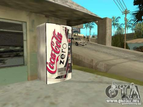 Nuevas máquinas para GTA San Andreas quinta pantalla