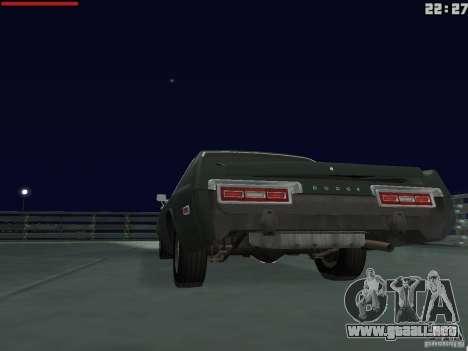 Dodge Monaco 1974 para GTA San Andreas vista hacia atrás
