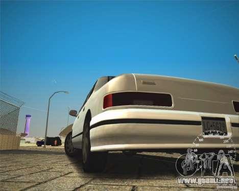 ECHO HD from GTA 3 para la visión correcta GTA San Andreas