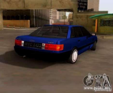 Audi 80 B3 para la visión correcta GTA San Andreas
