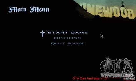 Parche para el GTA San Andres vapor V 3.00 para GTA San Andreas segunda pantalla