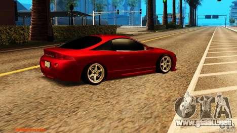 Mitsubishi Eclipse 1998 para la visión correcta GTA San Andreas