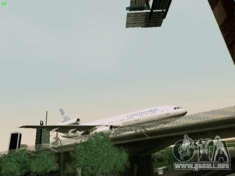 McDonell Douglas DC-10-30 Continental para la visión correcta GTA San Andreas