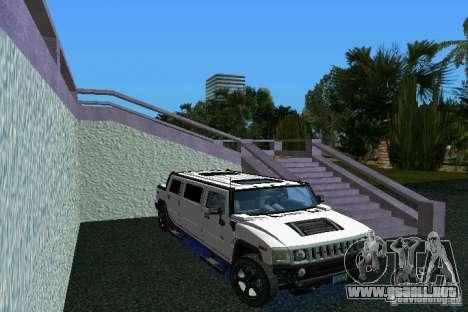 Hummer H2 SUT Limousine para GTA Vice City