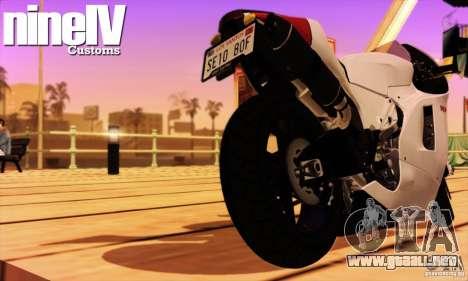 Ducati Desmosedici RR 2012 para la visión correcta GTA San Andreas