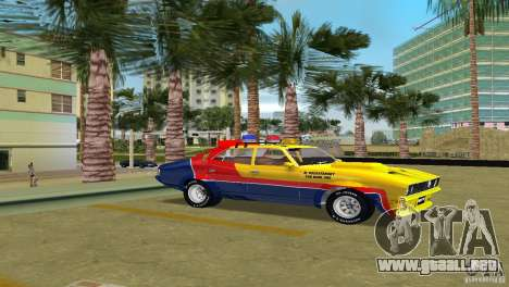 Ford Falcon 351 GT Interceptor para GTA Vice City vista lateral izquierdo