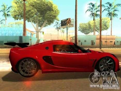 Lotus Exige 240R para la visión correcta GTA San Andreas