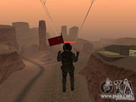 Piloto para GTA San Andreas tercera pantalla