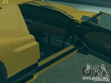 La bala de la GTA TBoGT IVF para GTA San Andreas vista hacia atrás