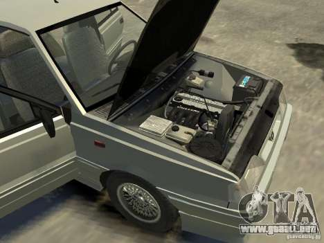FSO Polonez Atu para GTA 4 vista desde abajo
