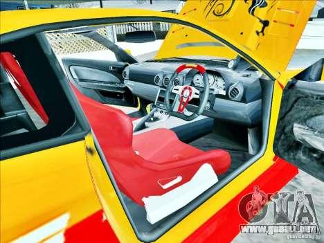 Nissan Silvia S15 Calibri-Ace para la visión correcta GTA San Andreas