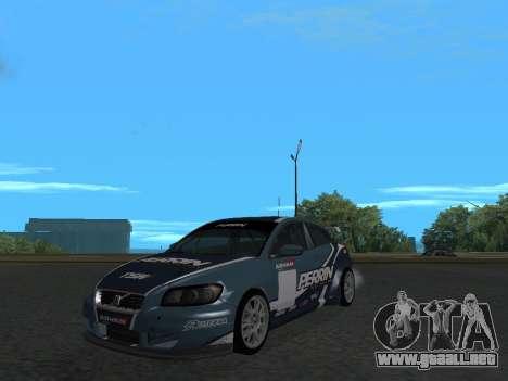 Volvo C30 Race para la visión correcta GTA San Andreas