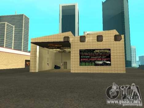 Salón del automóvil de Porsche para GTA San Andreas sexta pantalla