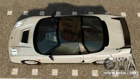 Honda NSX-R GT para GTA 4 visión correcta