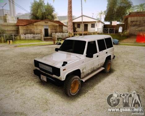 Daihatsu Taft Hiline Long para GTA San Andreas