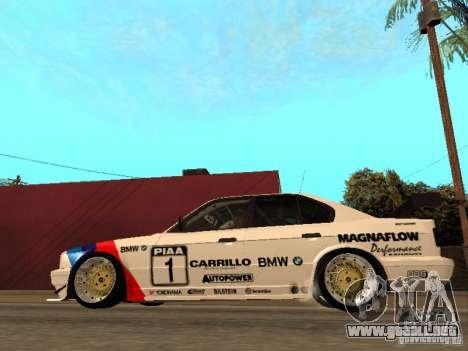 BMW E34 M5 - DTM para GTA San Andreas left