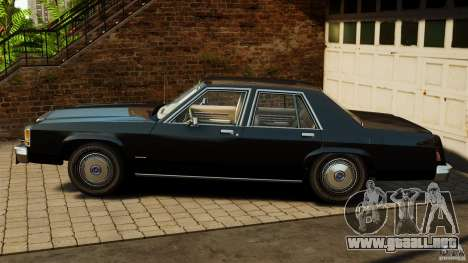 Ford LTD Crown Victoria 1987 para GTA 4 left