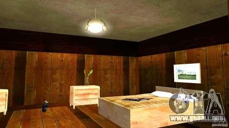 Nuevas texturas para la casa de CJ para GTA San Andreas