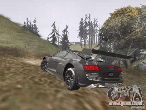 Audi R8 LMS v3.0 para GTA San Andreas left