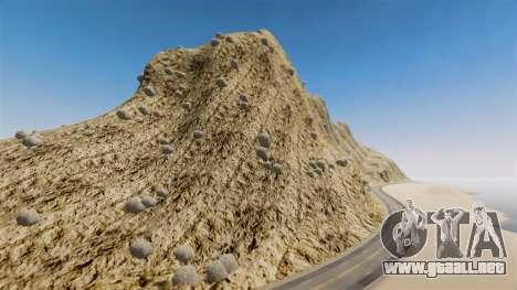 Pico de la montaña para GTA 4 quinta pantalla