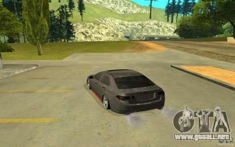 Honda Accord para GTA San Andreas left
