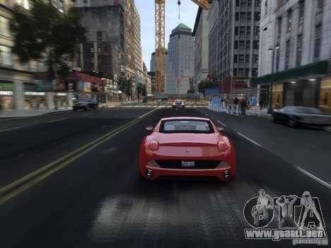 Ferrari California 2009 para GTA 4 vista desde abajo
