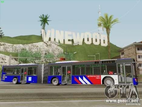 Design X3 para GTA San Andreas vista hacia atrás