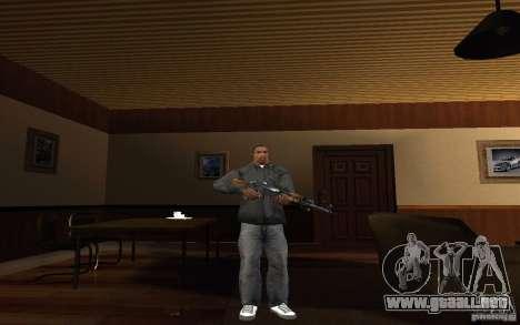 AK-47 desde el juego Left 4 Dead para GTA San Andreas segunda pantalla