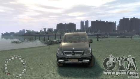 Mercedes-Benz Vito 2013 para GTA 4 visión correcta