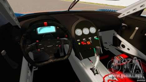 Bugatti Veyron 16.4 Body Kit Final para GTA 4 vista hacia atrás