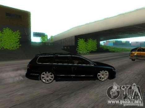 Volkswagen Passat B6 Variant Com Bentley 20 Fixa para visión interna GTA San Andreas
