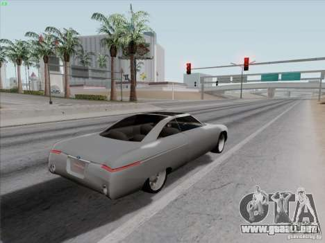 Ford Fortynine para GTA San Andreas vista hacia atrás