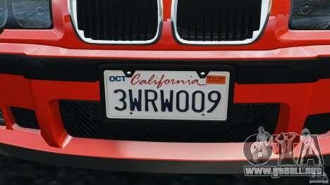 BMW M3 E36 para GTA 4 ruedas