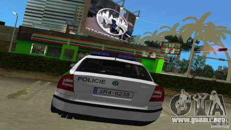 Skoda Octavia 2005 para GTA Vice City visión correcta