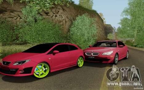 Seat Ibiza Cupra para GTA San Andreas left