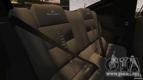 Saleen S281 Extreme Unmarked Police v1.5 para GTA 4 vista lateral