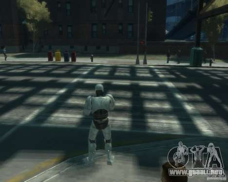 Piel Robokopa para GTA 4 tercera pantalla