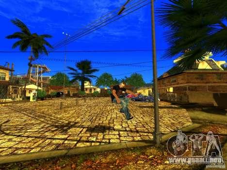 Amazing Screenshot 1.0 para GTA San Andreas segunda pantalla