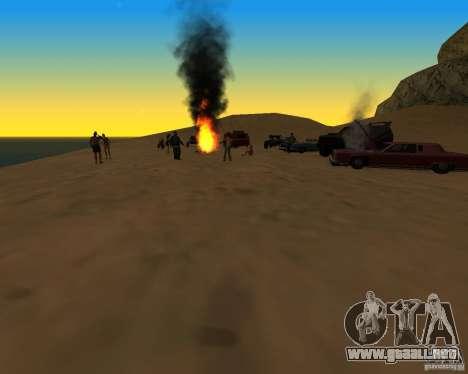 Playa večirinka para GTA San Andreas segunda pantalla