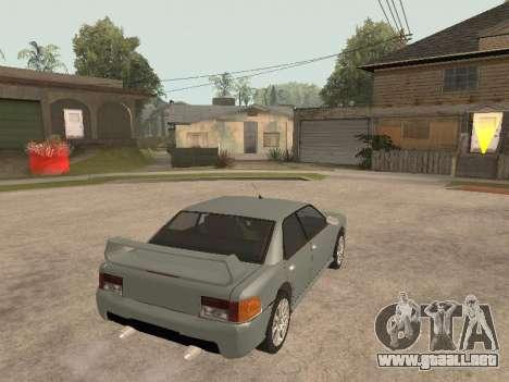 Sultan Impreza v1.0 para GTA San Andreas vista posterior izquierda