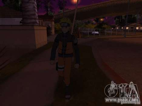 Skin Pack From Naruto para GTA San Andreas octavo de pantalla
