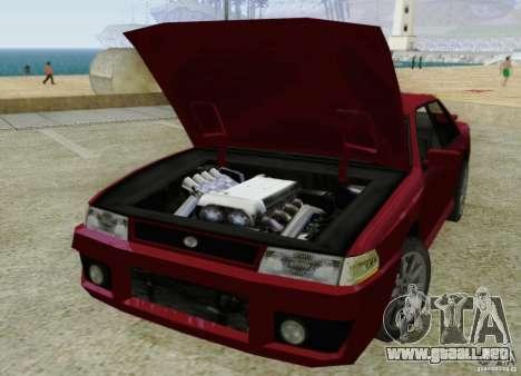 Sultan SRX para visión interna GTA San Andreas