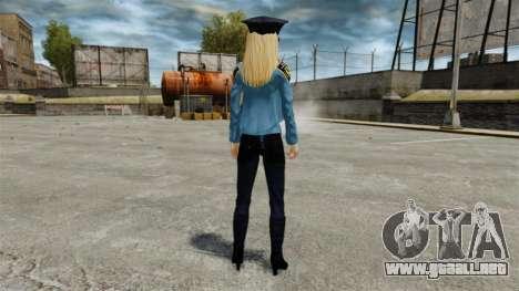 Nueva chicas-v 4.0 para GTA 4 adelante de pantalla