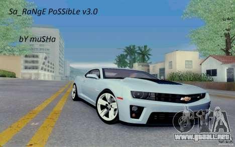 Sa_RaNgE posible v3.0 para GTA San Andreas