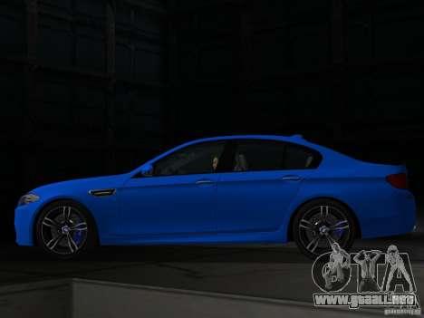 BMW M5 F10 2012 para GTA Vice City left