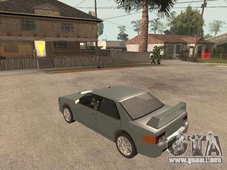 Sultan Impreza v1.0 para la visión correcta GTA San Andreas