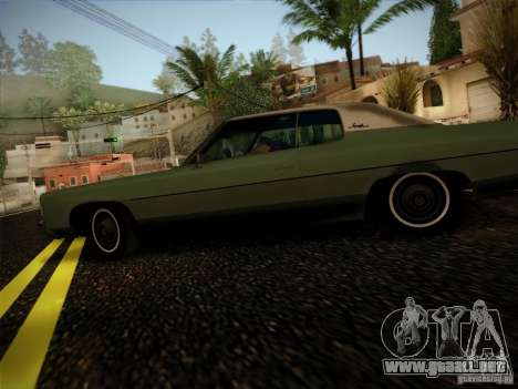 Chevrolet Impala 1972 para GTA San Andreas left