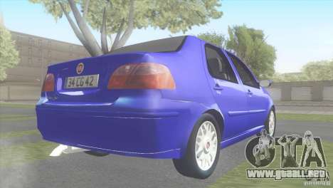 Fiat Albea Sole para GTA San Andreas left